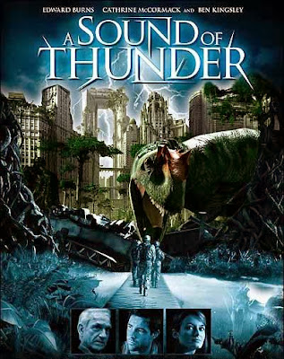 Poster Of A Sound of Thunder (2005) In Hindi English Dual Audio 300MB Compressed Small Size Pc Movie Free Download Only At worldfree4u.com