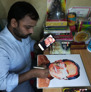 अस्थाना आर्ट फोरम ने भारत रत्न प्रणब मुखर्जी को दी श्रद्धांजलि  | #NayaSaveraNetwork