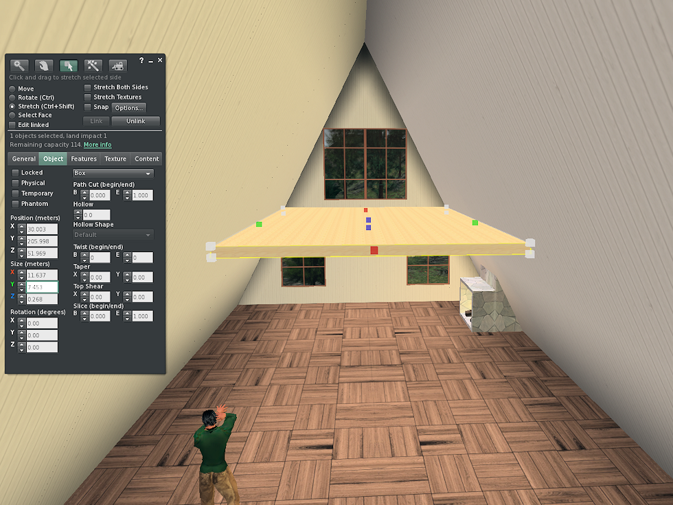 Leaf Illusion: Add a loft to your Linden Home in Second Life