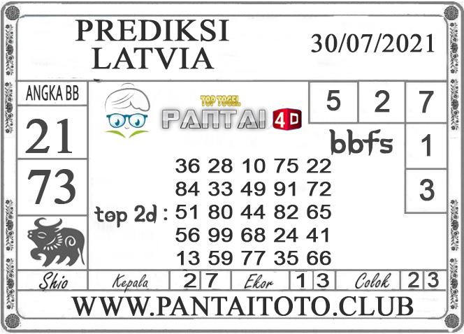 PREDIKSI TOGEL LATVIA PANTAI4D 30 JULI 2021