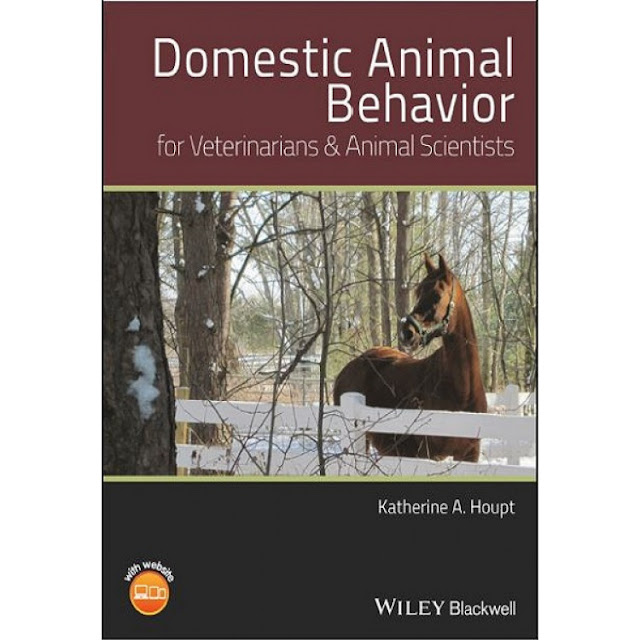 Domestic animal behavior for veterinarians and animal scientists  - WWW.VETBOOKSTORE.COM