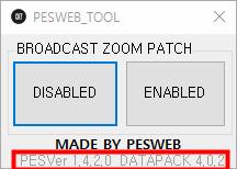 Camera ZOOM Disabler For PES 2019 DP 4.0.2