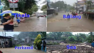 Banjir dan Tanah Longsor Kepung Wilayah Manado, 4 Orang Korban Meninggal Dunia