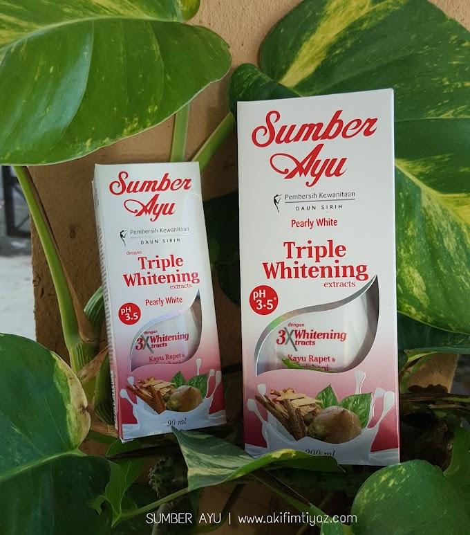 Pembersih Kewanitaan Daun Sirih Sumber Ayu Dengan Triple Whitening Extracts