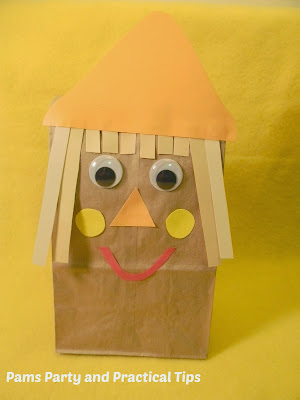 Scarecrow Party Bag kids activity
