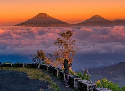 Gunung Telomoyo, gampang didaki, penuh sensasi