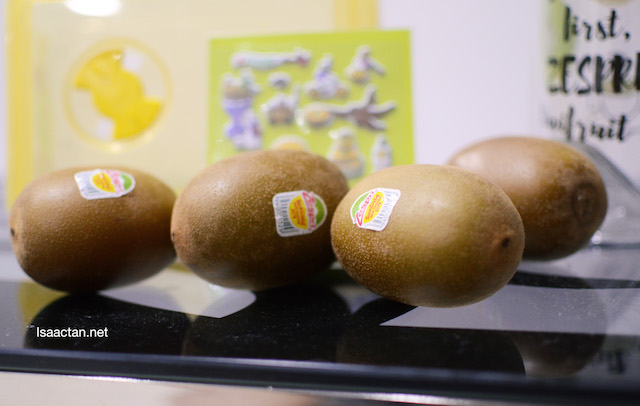 How can you not love these Zespri SunGold Kiwis?