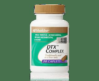 toksin hati dengan dtx complex