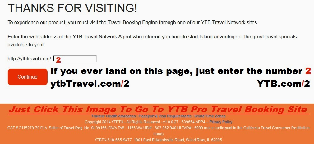 YTB Travel  iT people at ytb are not so Good