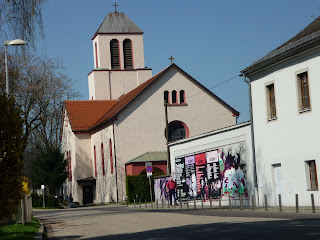 biserica langa Posthof
