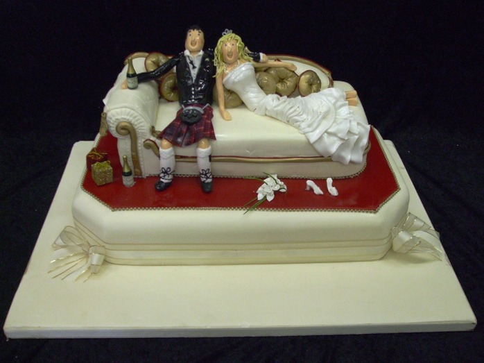 Naughty Cake Toppers