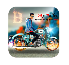 Bullet photo frame APK