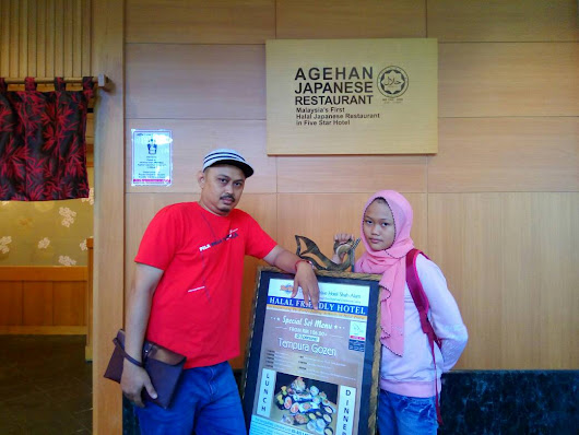 The Other Side of Me: Agehan Express Meals di Hotel Grand Blue Wave Shah Alam