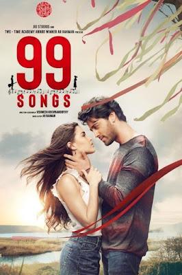 99 Songs (2021) Hindi 1080p HDRip ESub x265 HEVC 1.5Gb