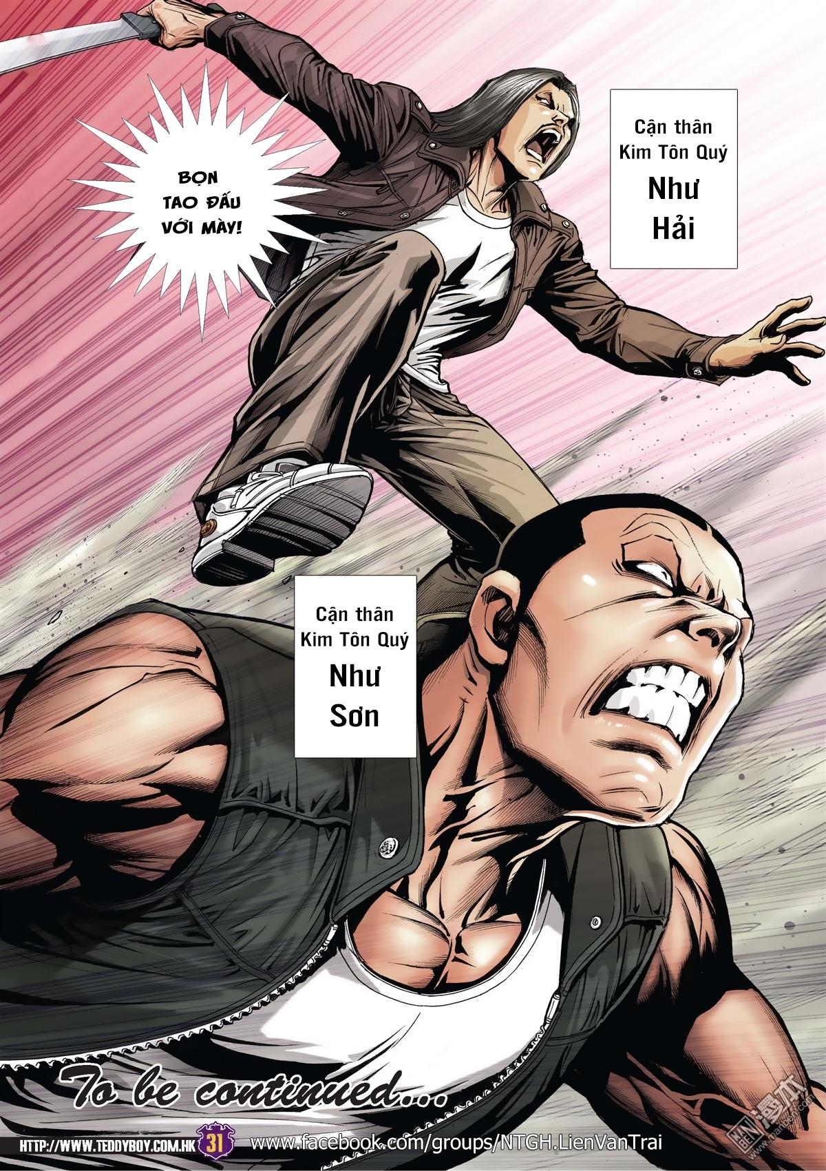 Người Trong Giang Hồ RAW Chương 2013 - NhoTruyen.Net