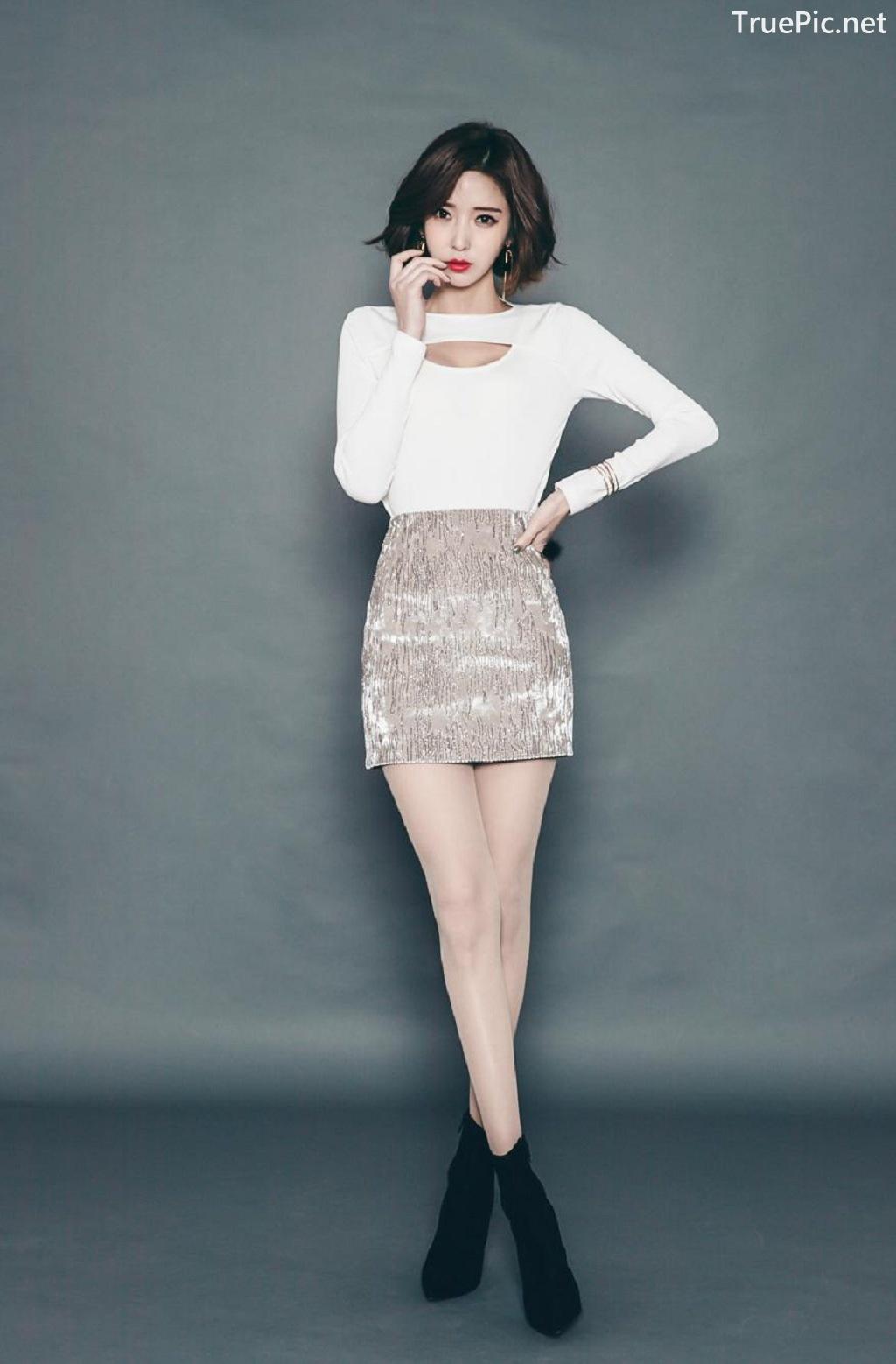 Image Ye Jin - Korean Fashion Model - Studio Photoshoot Collection - TruePic.net - Picture-2