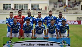Susunan Pemain Persib Bandung vs Perseru Serui - Liga 1 Jumat 23 November 2018