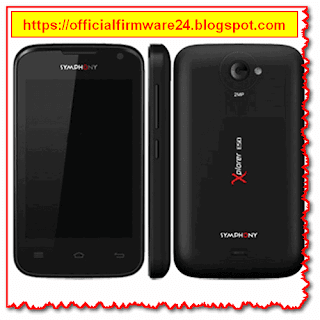 Symphony E50 Official Firmware/ Flash File Free Download