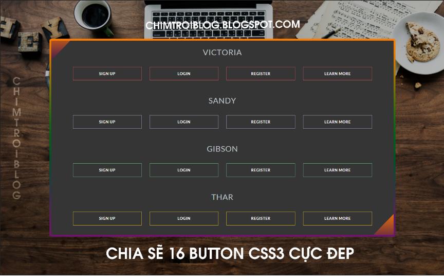 CHIA SẼ BUTTON CS3 CỰC ĐẸP - ĐOÀN ANH HUY