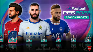 Download PES 2022 PPSSPP Chelito Edition Graphics Full HD Textures Grass 4K & Update Transfer