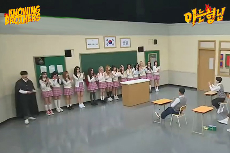 Nonton streaming online & download Knowing Bros eps 253 spesial Brother School Girl Group Battle subtitle bahasa Indonesia