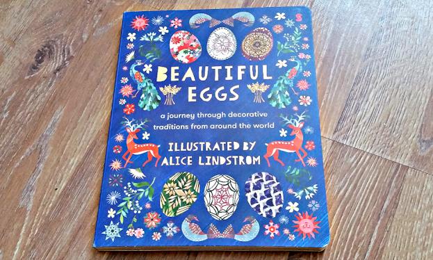 Beautiful Eggs board book