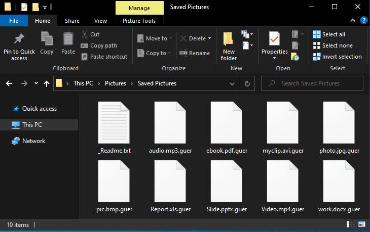 Guer File Virus