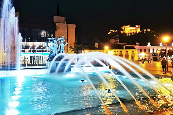 Fonte de Leiria, cartão-postal da cidade portuguesa
