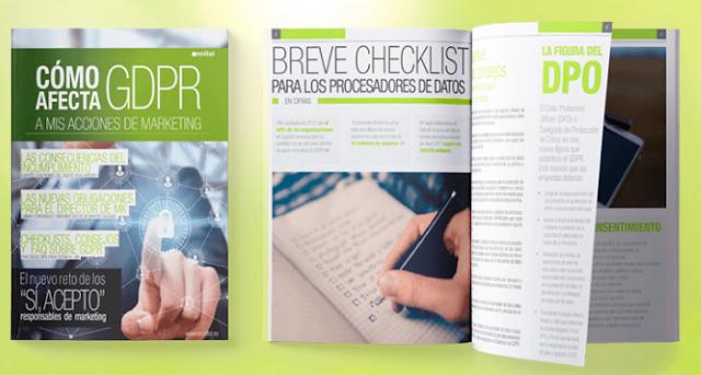Guía del GDPR para directores de marketing elaborada por OMNITEL