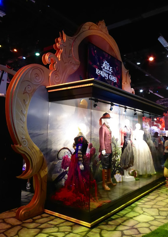 Disney Alice Through the Looking Glass costume exhibit