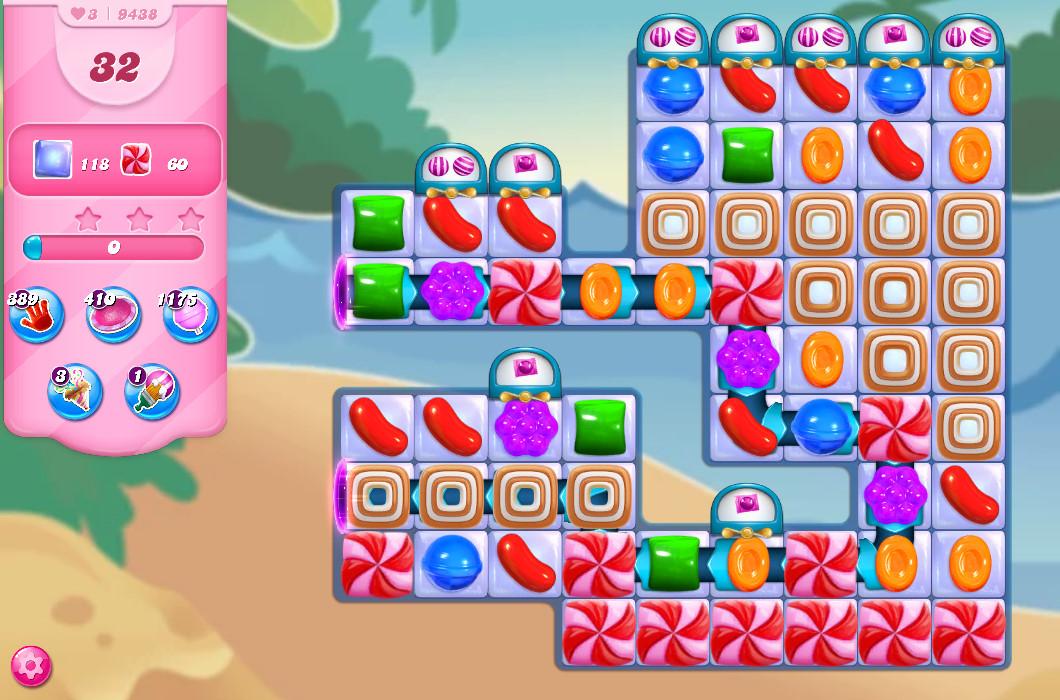 Candy Crush Saga level 9438