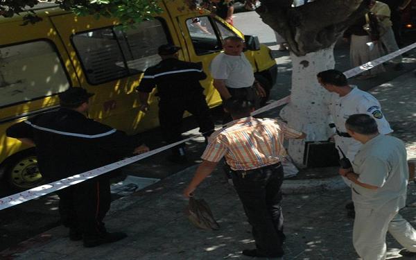 العثور على جثة فتاة مرمية أمام عيادة بوزغاية