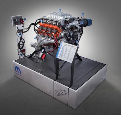 Mopar Hellcrate HEMI engine