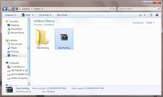 Cara Membuat Password Pada Folder Menggunakan Winrar
