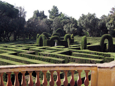 Maze of El Parc del Laberint d'Horta