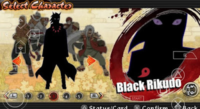 Download Naruto Ultimate Ninja Heroes 3 MOD Pain Rikudo Mode PSP PPSSPP