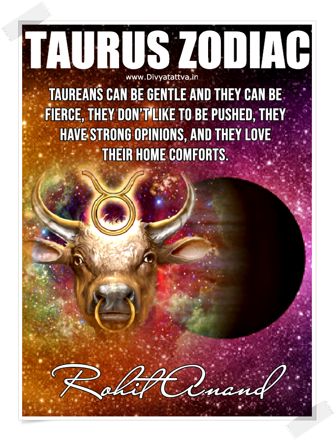 Taurus Love Astrology Free online, Taurus Horoscope Today Online, Know About Taurus Personality Traits