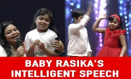 Independence Day Special-Stay Fearless Event at Ethiraj | Baby Rasika's Intelligent Speech