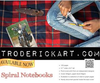 spiral notebooks troderickart.com