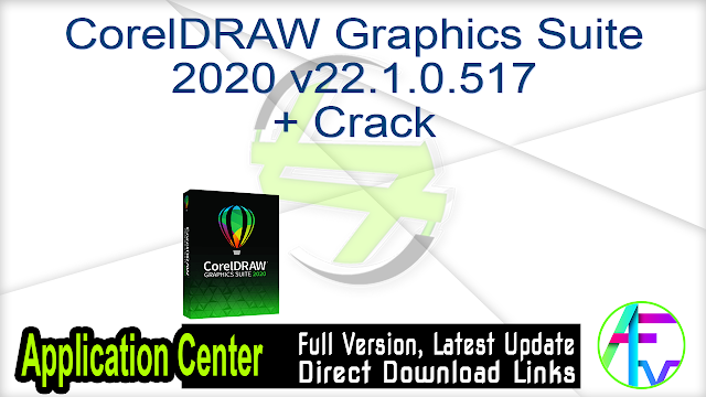 CorelDRAW Graphics Suite 2020 v22.1.0.517 + Crack