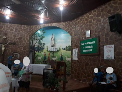Ladrões furtam sino de 150 quilos de Igreja Católica