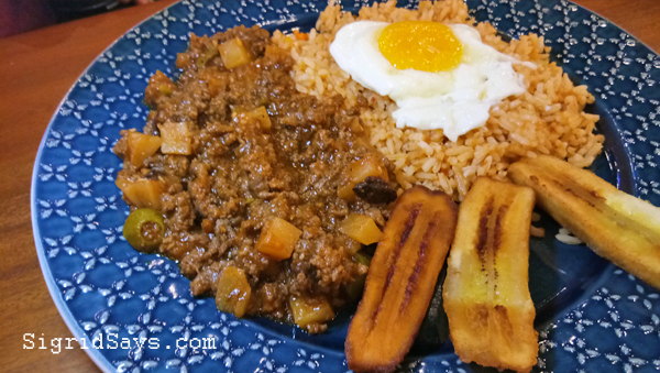 Mexicali arroz ala cubana - Bacolod restaurant