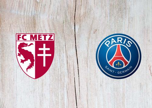 Metz vs PSG -Highlights 30 August 2019