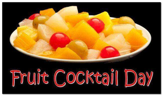 National Fruit Cocktail Day Wishes