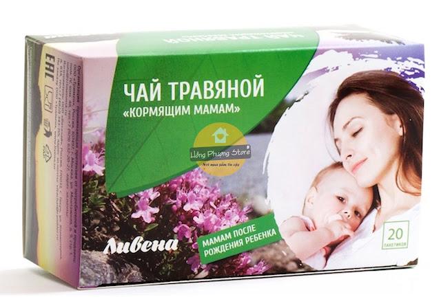 Trà lợi sữa Livena dành cho mẹ đang cho con bú 40g