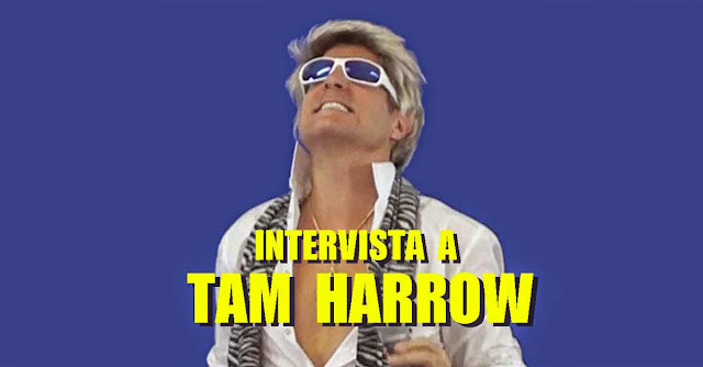 Tam Harrow, il cantante Italo Disco interpretato da Tom Hooker