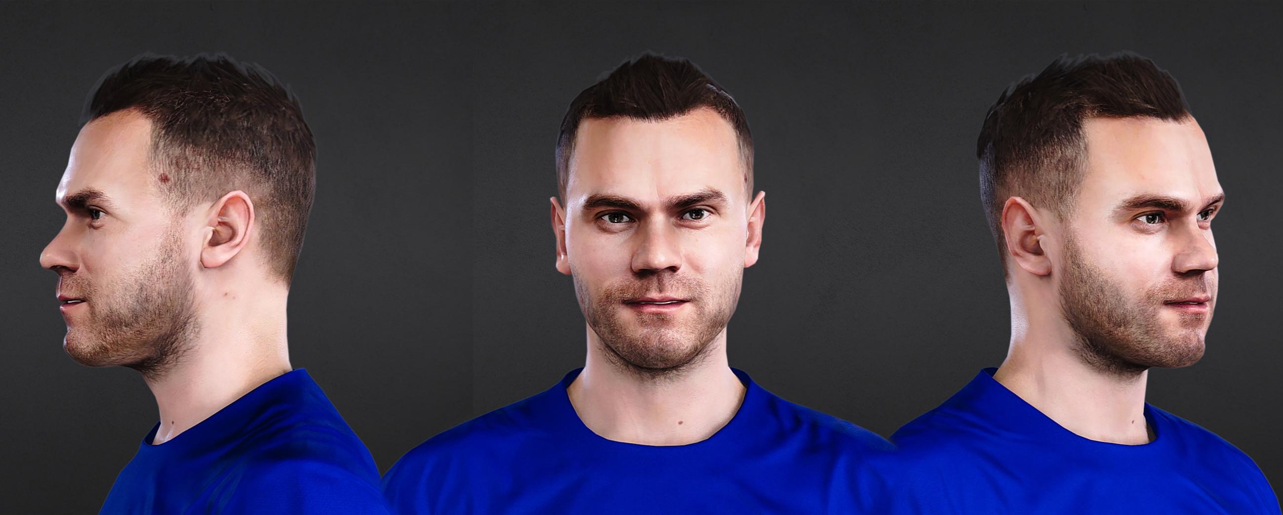 PES 2021 Faces Igor Akinfeev Face