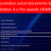 COME ACCENDERE AUTOMATICAMENTE LA TV CON PS4 USANDO HDMI-CEC