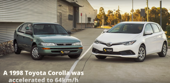 Ραγδαία η βελτίωση της ασφάλειας των αυτοκινήτων τις τελευταίες δεκαετίες