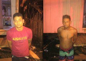 Polícia Militar prende membros de facção e apreende armas e munição durante operação